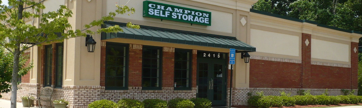 Champion Self Storage in Grayson, GA.